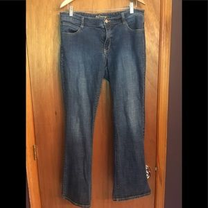 """Old Navy """"the Dreamer"""" 12reg bootcut Jeans"""